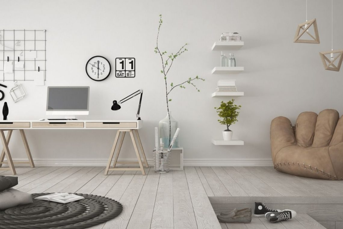Tips on How to design home office on a budget