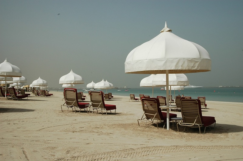 Winter Sun destination - Dubai Beach, UAE