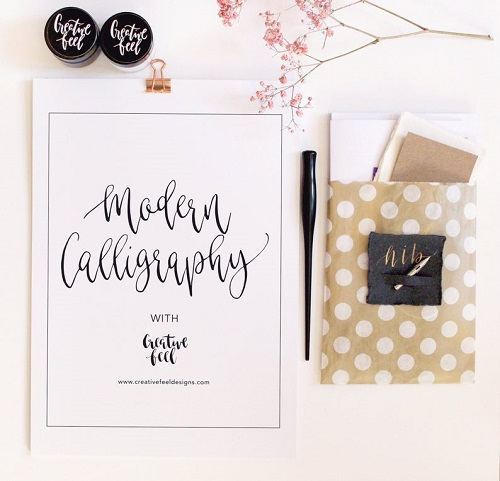Modern Calligraphy Course - SELF-CARE IDEAS SOCIAL DISTANCING